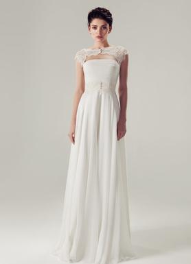 48e6a4df04f Неординарное свадебное платье А-силуэта Алекс