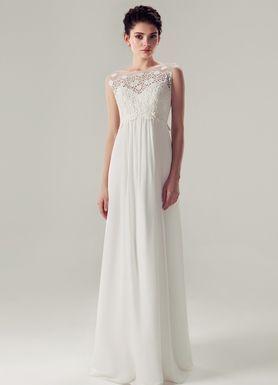 Весільна сукня з мереживом в стилі Ампір - Луїза db8fd189c7c36
