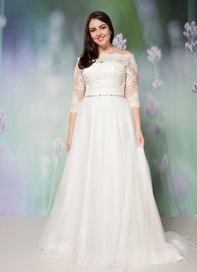 0329fcadb0bd6b Купити весільну сукню великого розміру Київ, каталог 2018 весільних ...